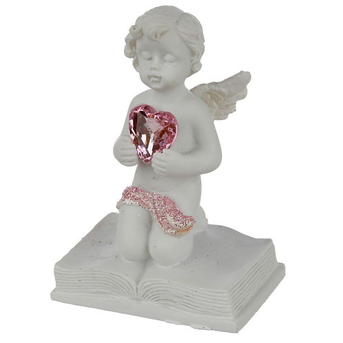 Peace of Heaven Happily Ever After Cherub Figurine