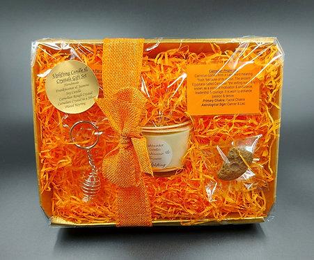 Uplifting Crystal & Candle Gift Set