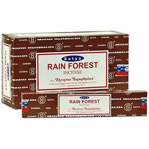 Satya Rainforest Incense Sticks 15 g