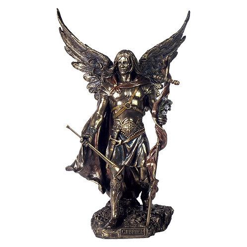 Archangel Gabriel bronze statue