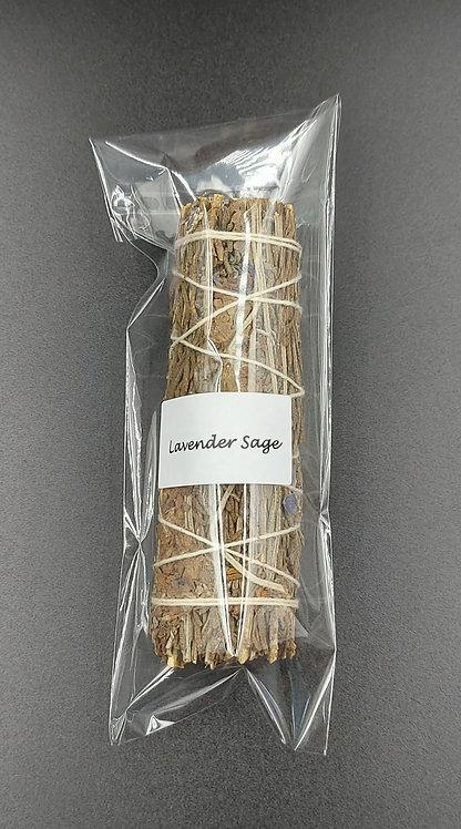 Lavender Sage Smudge Stick-10cm