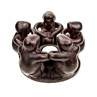 Circle of friends tea light holder - bro