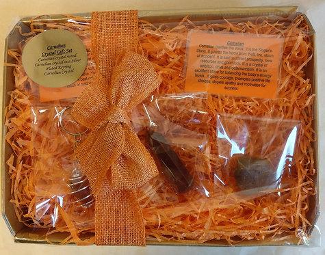 Carnelian Crystal Gift Set