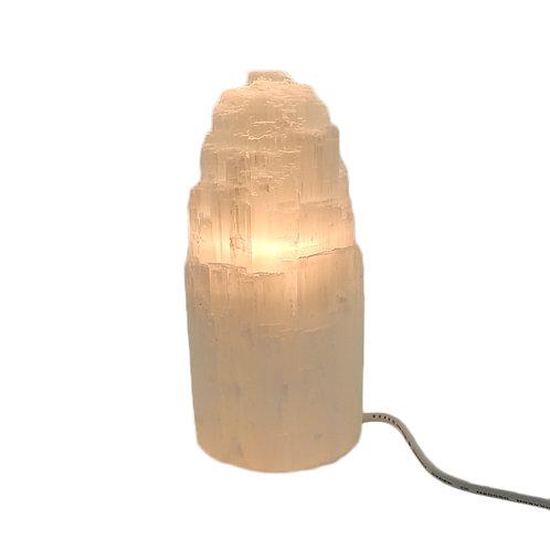 Selenite Crystal Mountain Lamp 20 cm