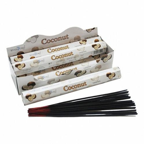 Stamford Hex Coconut Incense Sticks