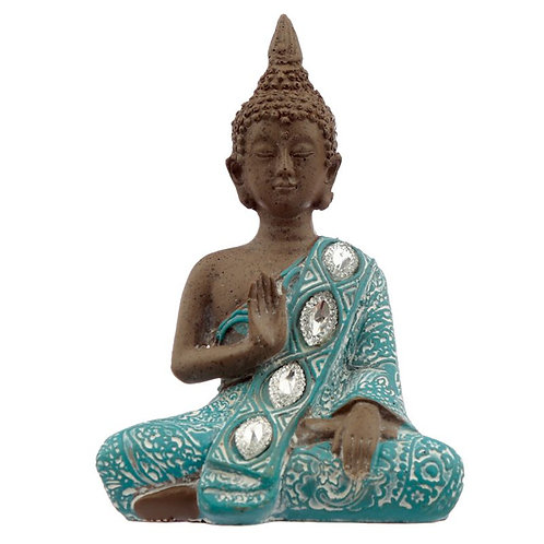 Turquoise Thai Buddha-Meditation