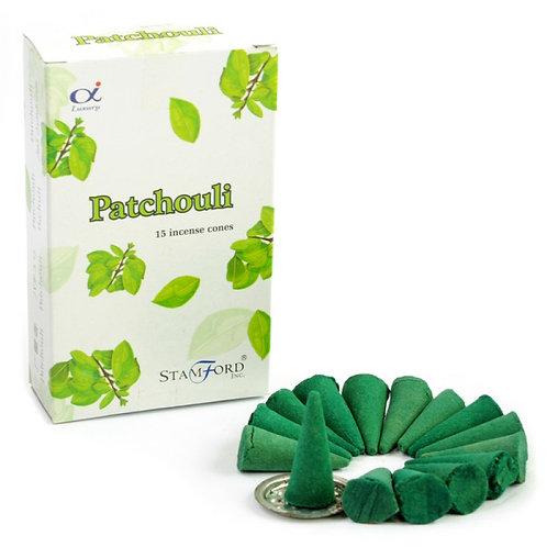 Stamford Patchouli Incense Cones