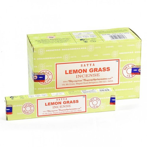 Satya Lemongrass Incense Sticks 15g