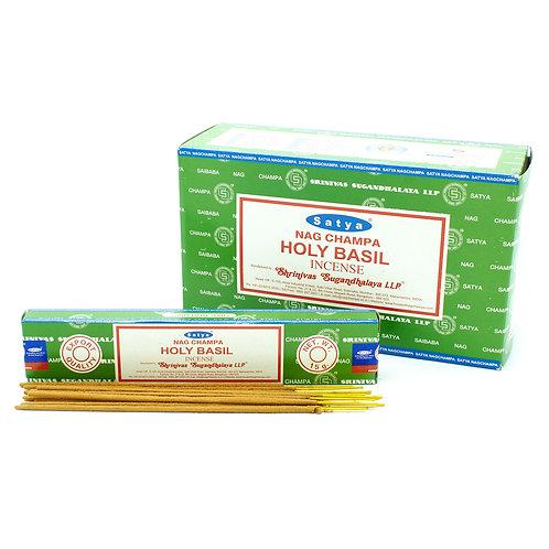 Satya Holy Basil Incense Sticks 15g