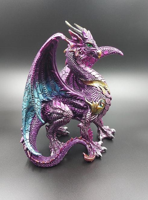 Dark Legends Metallic Warrior Dragon