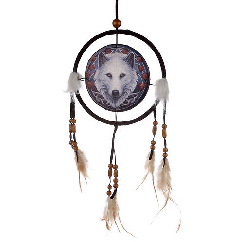 Guardian of the Fall Wolf Dreamcatcher