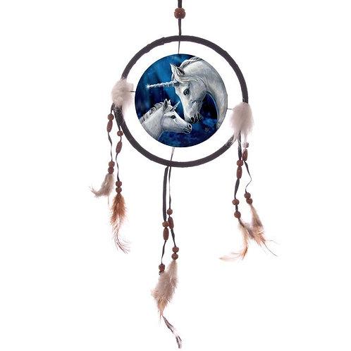 Sacred Love Unicorn Dreamcatcher 16 cm