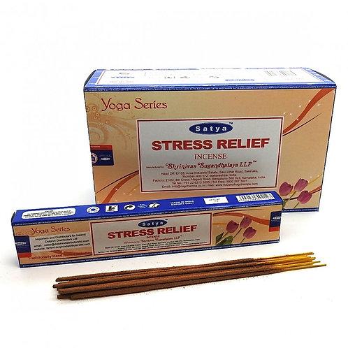 Satya Stress Relief Incense Sticks 15g