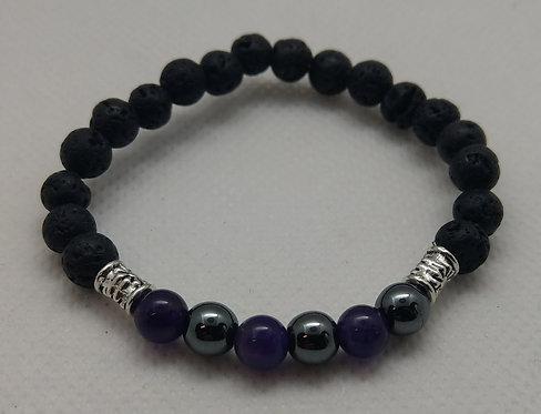 Children's Birthstone Bracelets-Aquarius