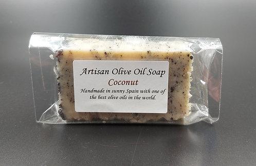 Artisan Olive Oil Soap-Coconut