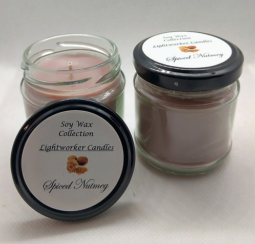 Spiced Nutmeg Soy Candle