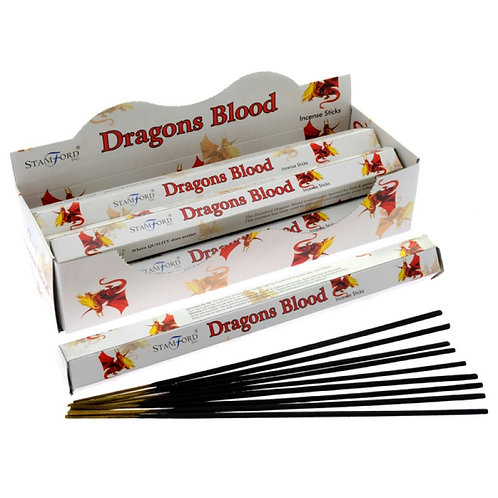 Stamford Hex Dragon's Blood Incense Sticks