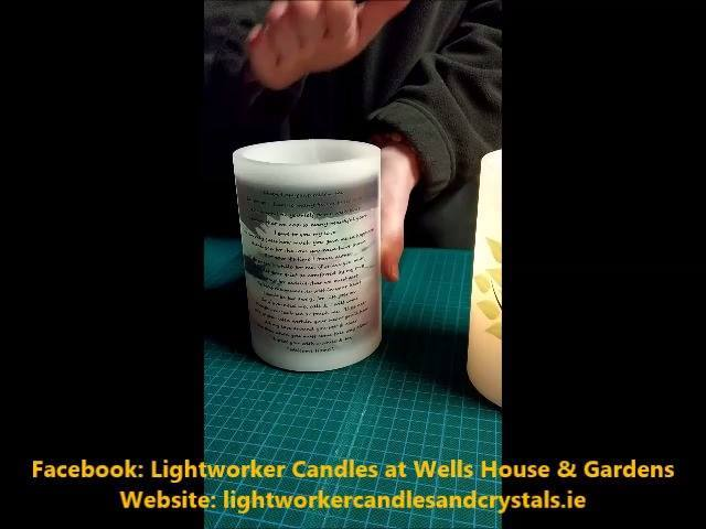Lightworker Candles Instructional Video