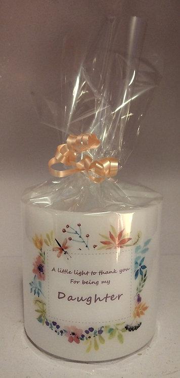Daughter Candle Lantern