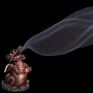 Smoking Dragon Incense Cone Burner