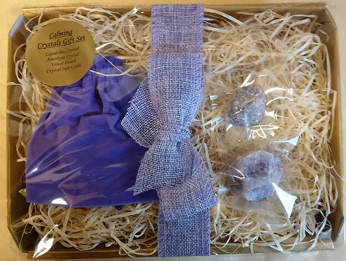 Calming Crystals Gift Set