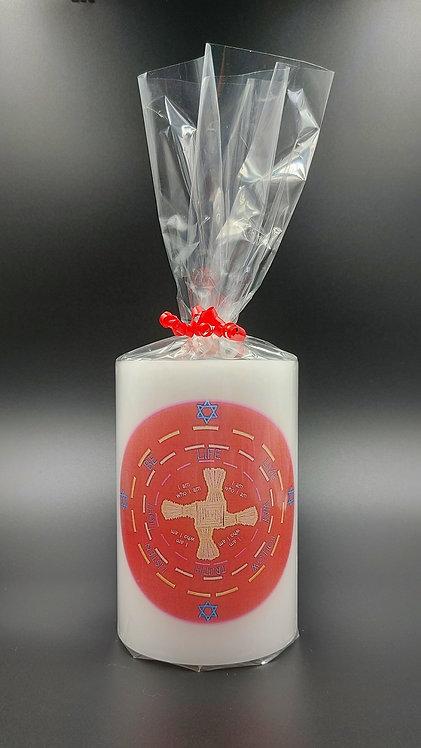 Saint Brigid Candle Lantern