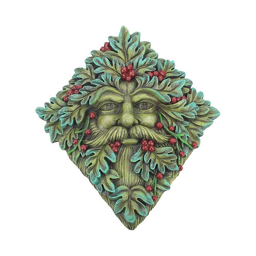 Tree Spirit Wall Plaque Berry Beard 24cm