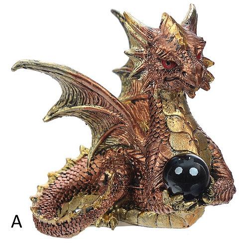 Enchanted Nightmare Dragon - Elements Crystal