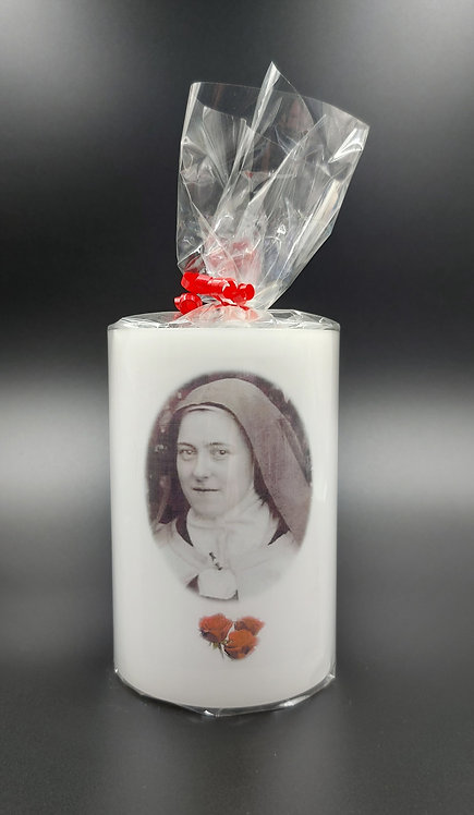 Saint Therese Candle Lantern