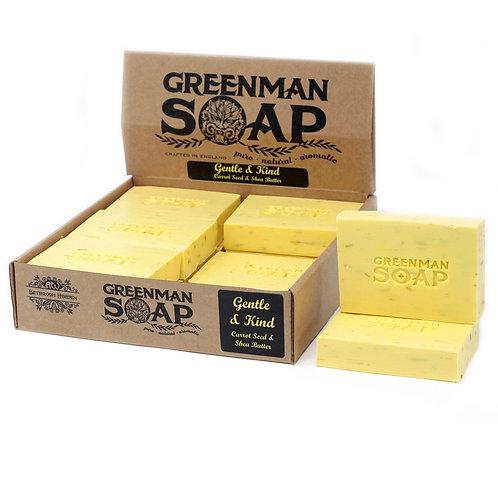 Greenman Soap-Gentle & Kind-Carrot Seed & Shea Butter