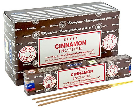 Satya Cinnamon Incense Sticks 15g