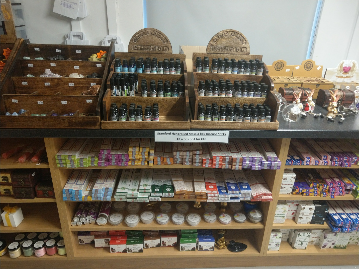 Essential Oils and Incense