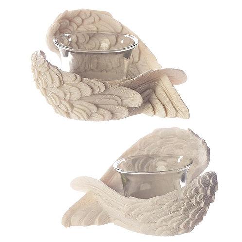 Angel Wing Tea Light Holder