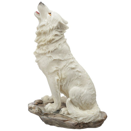 Protector of the North Ghost Walker Wolf