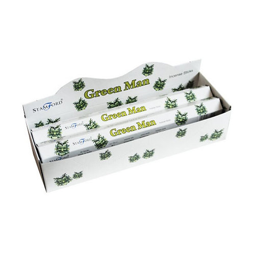 Stamford Hex Green Man Incense Sticks