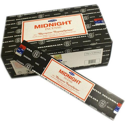 Satya Midnight Incense Sticks 15 g