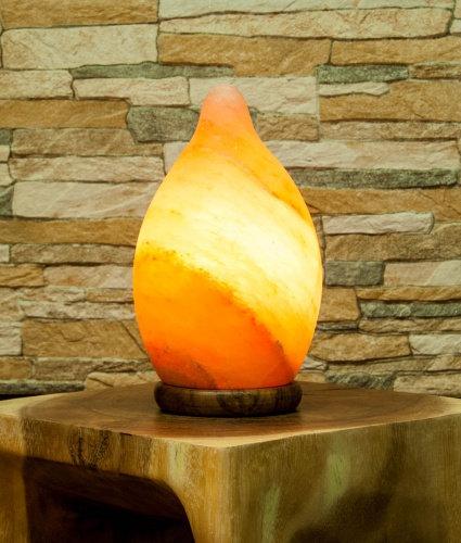 Himalayan salt crystal drop lamp