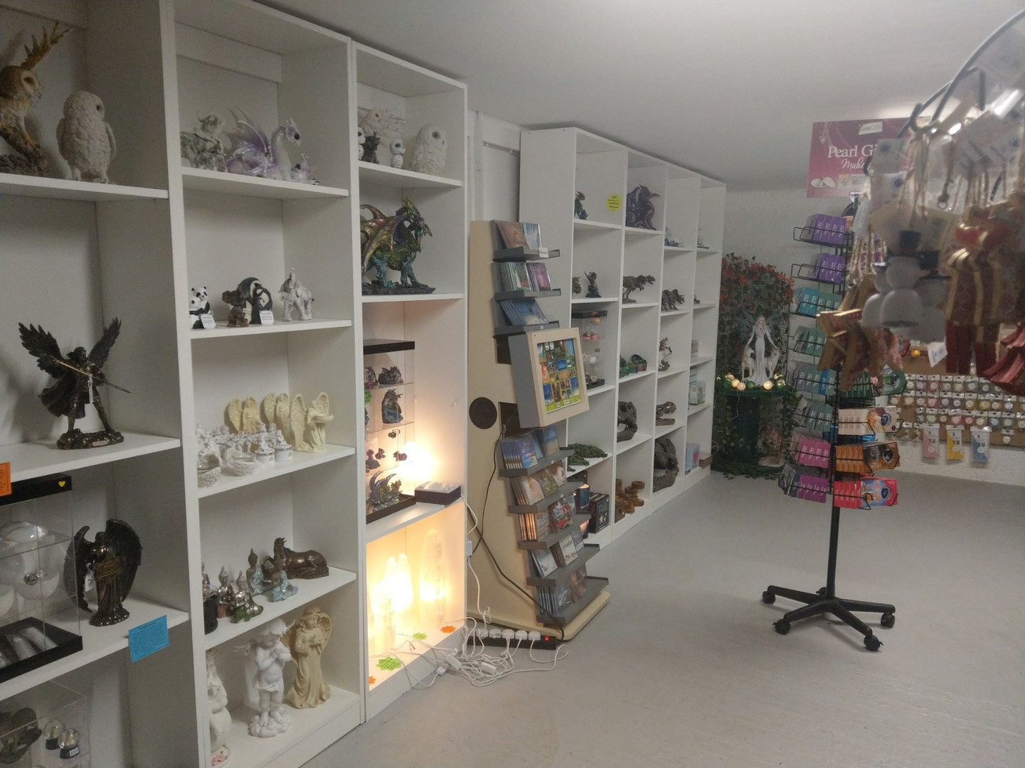 Inside our new shop location