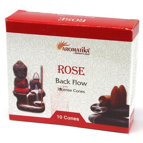 Rose Backflow Incense Cones