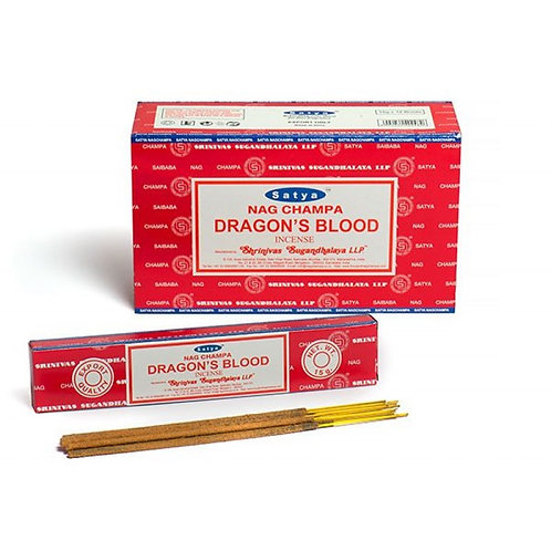 Satya Dragon's Blood Incense Sticks 15 g