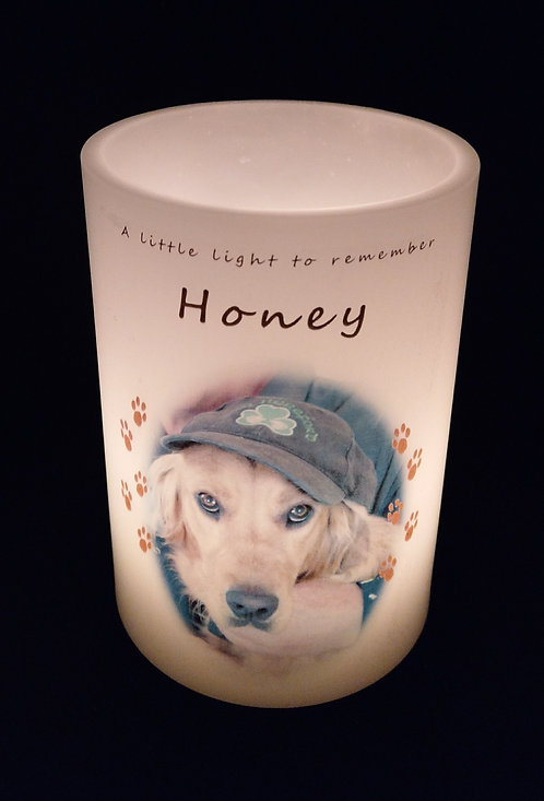 Pet Remembrance Candle Lantern