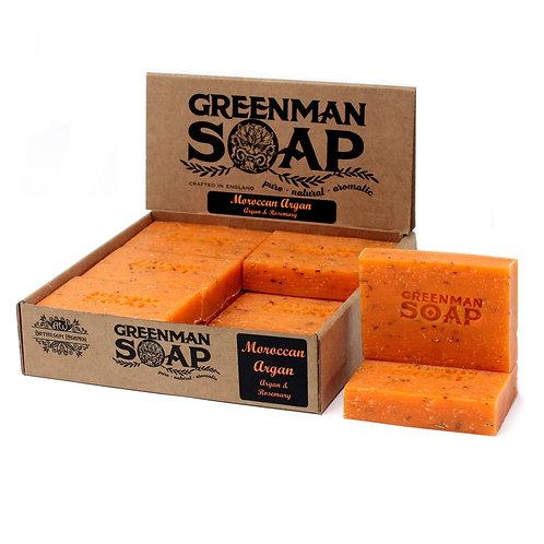 Greenman Soap-Moroccan Argan-Argan & Rosemary