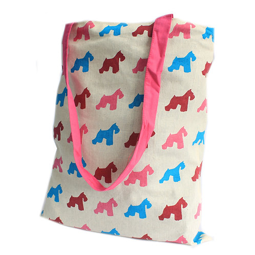 Large Tote Bag Reversible-Scotty