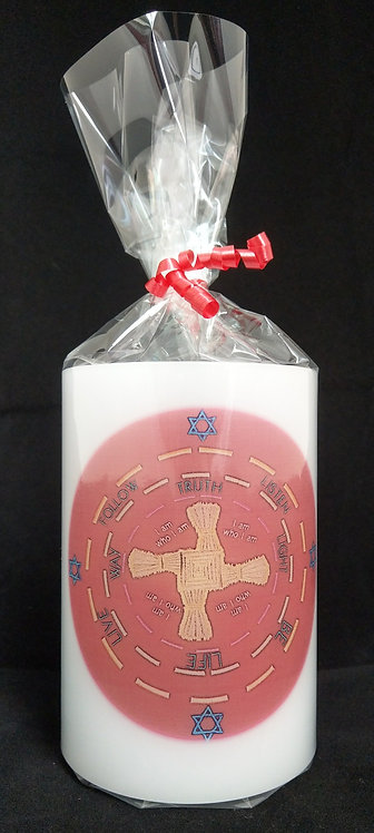 Saint Brigid Candle Lantern