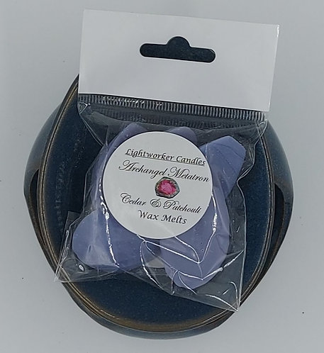 Archangel Metatron Cedar & Patchouli Soy Wax Melts