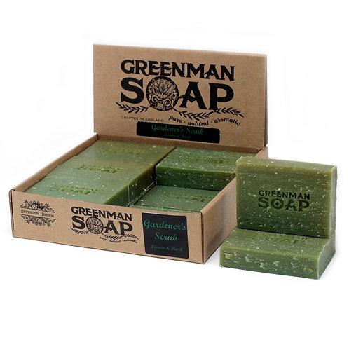 Greenman Soap-Gardener's Scrub-Lemon & Basil