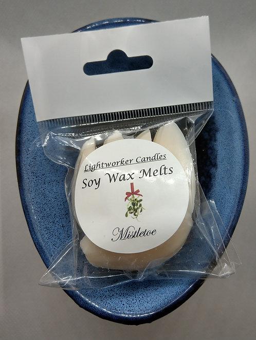 Soy Wax Melts-Mistletoe