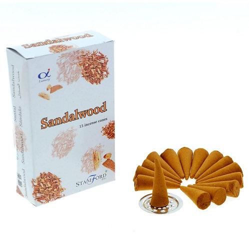 Stamford Sandalwood Incense Cones