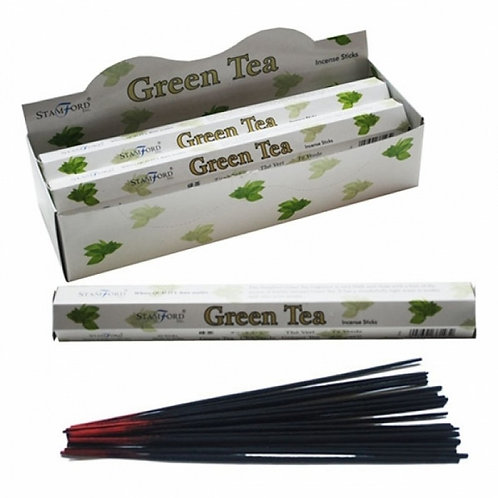 Stamford Hex Green Tea Incense Sticks