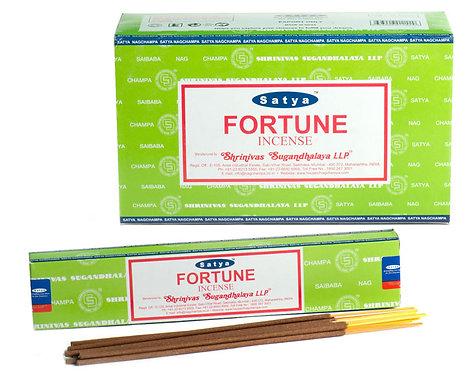 Satya Fortune Incense Sticks 15g